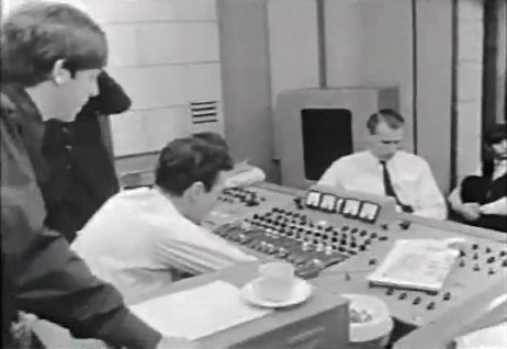 Abbey Road Geoff Emerick and George Martin
