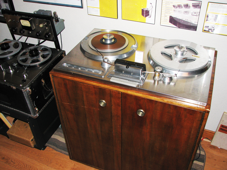 Ampex 200A and Ampex 300 in the Theophilus collection