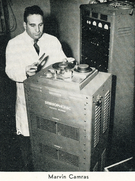 Marvin Camrus built early wire recorders