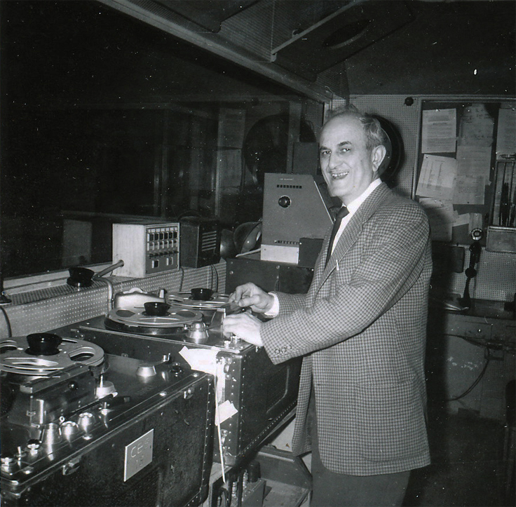 Joel Tall EditAll with Ampex recorders