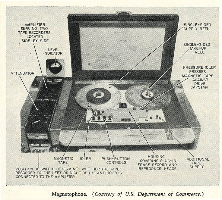 Magnetiphon K-1 US Department of Commerce
