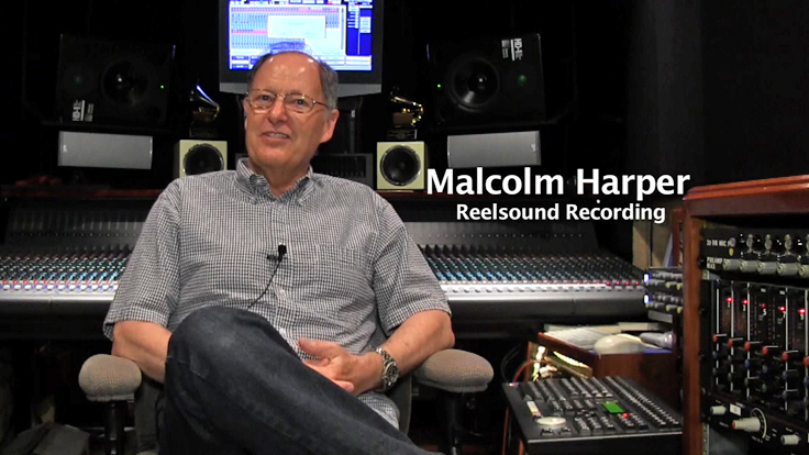 Malcolm Harper, Reelsound recording interview