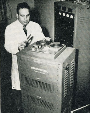 Marvin Camras made great stides in magnetic recording