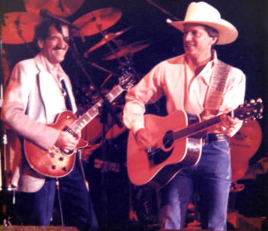 Rick McRae and George Strait
