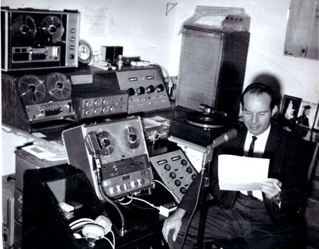 1966 Highland Sound (Martin Theophilus) produced weekly recordings for the Alpine, Texas Public School radio show on KVLF